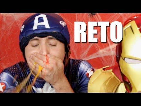 RETO | RETOS EXTREMOS HUEVOS SANGRIENTOS |  #SEMANADELTERROR | ALEX BROWN | HEY BROWN