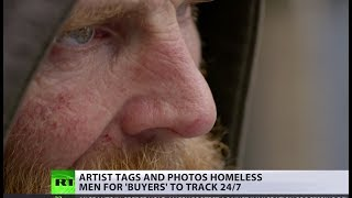 'Look more homeless!' Artist creates controversial 'tag-you-homeless' app to track people 24/7 - RUSSIATODAY
