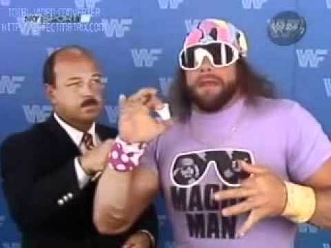 Macho Man Gives The Greatest Speech Ever