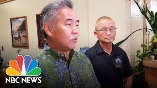 Officials investigating Hawaii missile false alarm | NBC News - NBCNEWS
