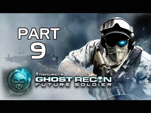 Ghost Recon Future Soldier Walkthrough - Part 9 [Mission 4] Tiger Dust Let's Play PS3 XBOX PC