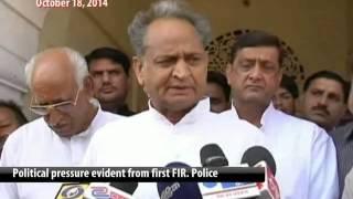 Vasundhara wants CBI probe against Ashok Gehlot, Sachin Pilot - NDTV