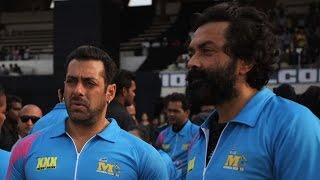 CCL: Salman Khan enjoys a game of cricket - IANSINDIA