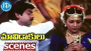 Maavidakulu Movie Scenes - Jagapati Babu Reveals His Flash back to Rachana - IDREAMMOVIES