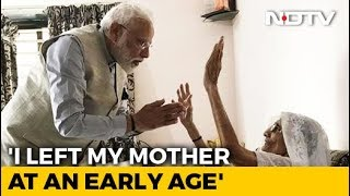 Why PM Modi Doesn't Live With His Mother - NDTV