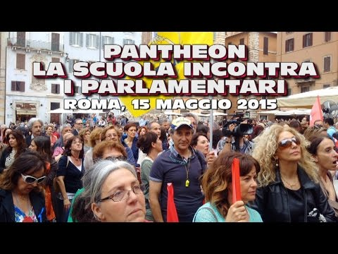 PANTHEON, LA SCUOLA INCONTRA I PARLAMENTARI