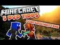 Minecraft - 5 PvP Tipps für Fortgeschrittene! (Deutsch/German)