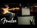 FENDER® PRO JUNIOR™ III, 212 CAB, & STRAT®: