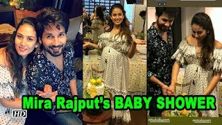 INSIDE PICS : Mira Rajput's BABY SHOWER | The Couple Looks Happy - BOLLYWOODCOUNTRY