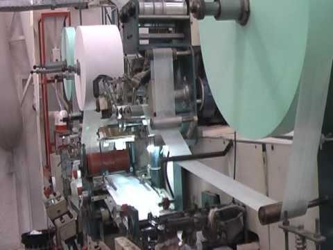 Máquina de Fabricação de Fraldas Descartáveis Infantis
