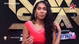 India's Raw Star Web Exclusives: A nervous Rimi Nique rocked the stage! - STARPLUS