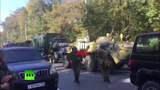 Terror attack in Crimea: Armored vehicles and military at the scene - RUSSIATODAY