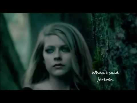 Won't Let You Go Video Remix - Avril Lavigne (With lyrics)