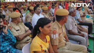 राजस्थान में वसुंधरा सरकार ने पुलिसकर्मियों का किया अभिनंदन - NDTVINDIA
