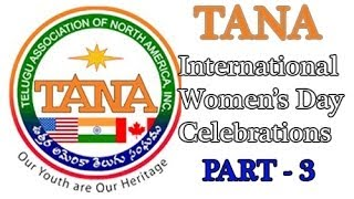 TANA International Women's Day Celebrations -Part 3 - TV5NEWSCHANNEL