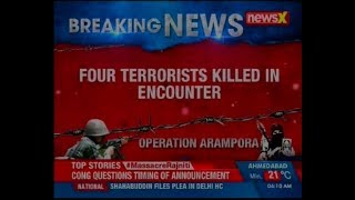 Jammu and Kashmir: 4 militants killed in an encounter with security forces in Kupwara - NEWSXLIVE