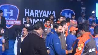 PWL 3 Day 12: Visuals of Haryana Hammers after the victory against Mumbai Maharathi - NEWSXLIVE