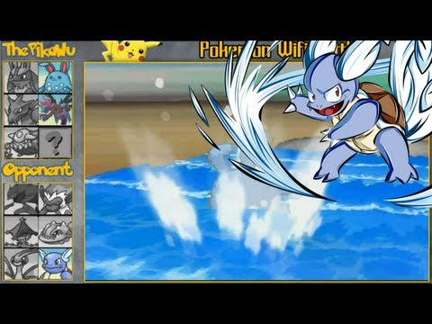 A Wartortle Wrecked My Team Pokemon Black And White Wifi Battle 