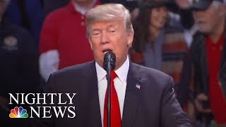 President. Donald Trump Records Robocall For Roy Moore | NBC Nightly News - NBCNEWS