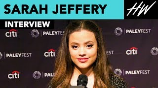 "Sarah Jeffrey Gives Us SO Many ""Charmed"" Details! 