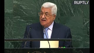 LIVE: President of the State of Palestine Mahmoud Abbas addresses UNGA - RUSSIATODAY