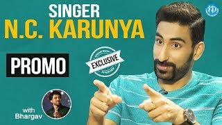 Singer NC Karunya Exclusive Interview - Promo || Talking Movies With iDream - IDREAMMOVIES