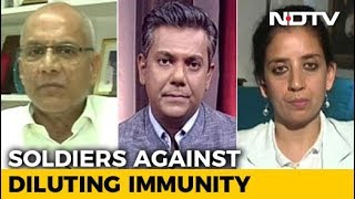 Immunity vs Impunity: AFSPA Debate - NDTV