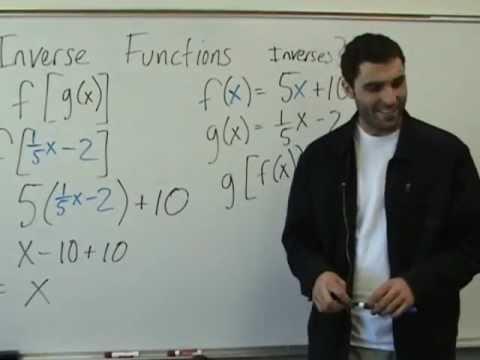Algebra 2 - Inverse Functions -8HswpJ8fu-w