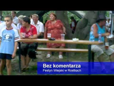 Festyn wiejski w Rostkach.