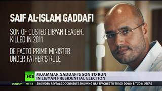 Gaddafi's son may run for president in Libya, 'has lots of supporters' – Saif's lawyer (EXCLUSIVE) - RUSSIATODAY