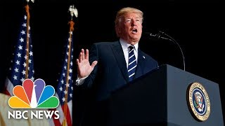 Watch Live: Trump attends swearing-in of new CIA Director Gina Haspel - NBCNEWS
