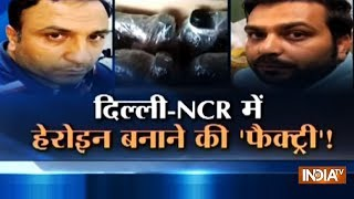 Delhi: 3 arrested with 9650 liters of drugs used to make heroin - INDIATV