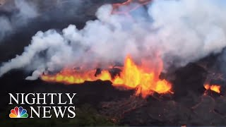 Hawaii's Kilauea Lava Destroys More Homes | NBC Nightly News - NBCNEWS