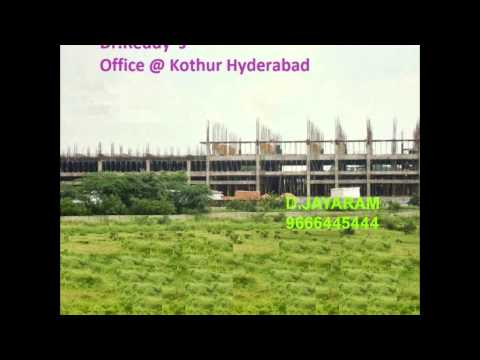 HMDA APPROVED PLOTS NEAR KOTHUR SHAMSHABAD BESIDE DLF,P&G UNITS