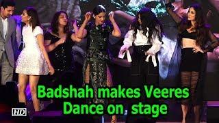 Rapper Badshah makes the Veeres Dance on the stage - IANSLIVE