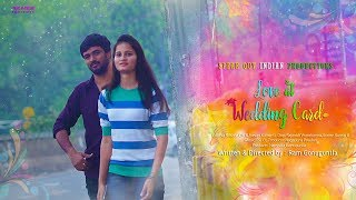 Love At Wedding Card || Telugu Short Film 2018 || By Ram Gonuguntla || Bilingual Short Film - YOUTUBE
