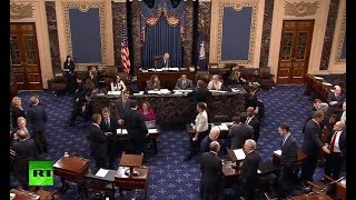 US Senate to vote in attempt to end government shutdown - RUSSIATODAY