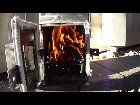 Modifications to homemade wood stove vid 4.