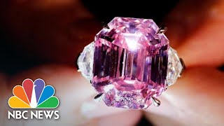 'Pink Legacy' Diamond Sells For Record $50 Million To U.S. Jeweler | NBC News - NBCNEWS