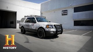 Counting Cars: The Team Is Challenged to Paint a 2005 Escape (Season 7, Episode 14) | History - HISTORYCHANNEL