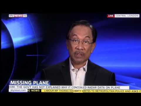 (MH370) Anwar Ibrahim: The Integrity Of The Whole Nation Is At Stake
