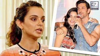Kangan Ranuat Revealed! Hrithik Roshan Had An Affair With Katrina Kaif? | LehrenTV