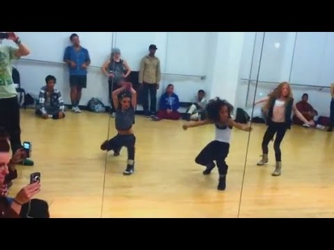 "Rihanna - ""Roc Me Out"" Choreography - Jade Chynoweth, Charlize Glass, & Larsen Thompson"