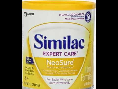 Similac NeoSure Infant Formula Powder with Iron,