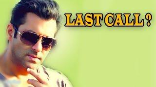 Salman Khan speechless when questioned about his call logs | HOT GOSSIP