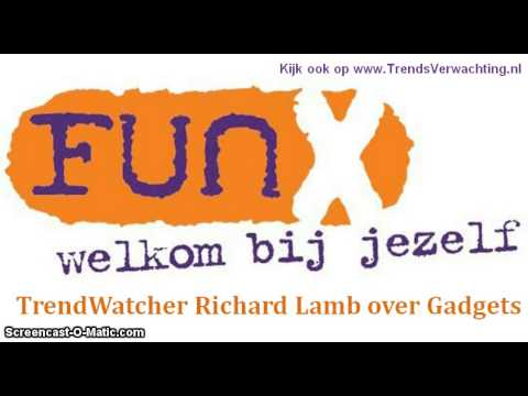 Richard Lamb bij FunX over Gadgets