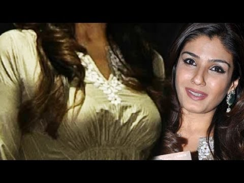 Hot Raveena Tandon Nice Shape Upper Body