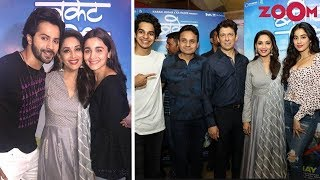 'Bucket List' Screening: Varun Dhawan, Alia Bhatt & Janhvi Kapoor Make Stylish Appearances - ZOOMDEKHO