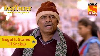 Your Favorite Character | Gogol Is Scared Of Snakes | Partners Trouble Ho Gayi Double - SABTV