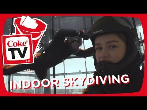 INDOOR SKYDIVING | #CokeTVBucketList
